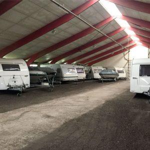 Opbevaring af Campingvogn, Båd eller Bil (12m)